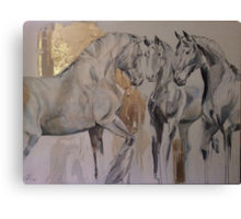 Baroque Herd Canvas Print