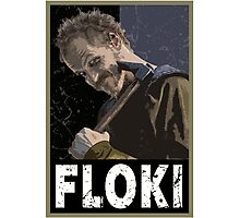 Floki Photographic Print