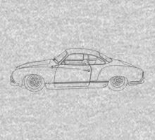 Wireframe Ghia (Black) by MangaKid
