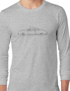Wireframe Ghia (Black) Long Sleeve T-Shirt