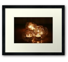Warm atmosphere... Framed Print