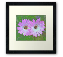 """ Flower Power."" Framed Print"