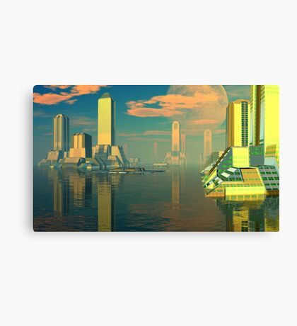 Planet of the Gods Canvas Print