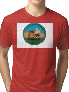 Wombat Tri-blend T-Shirt