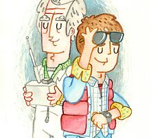 Doc & Marty by jimmyrogers