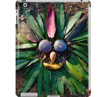 Chief Rock Face - Jungle Rock Art in Costa Rica iPad Case/Skin
