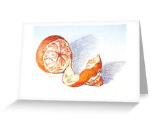 Tangello Greeting Card