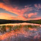 Lysterfield Lake Sunset by Alex Stojan