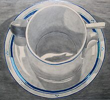 Cup & Saucer by Marilyn Healey