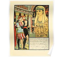 Cinderella Picture Book containing Cinderella, Puss in Boots, and Valentine and Orson Illustrated by Walter Crane 1911 55 - Brass Oracle Poster