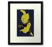 Super Vegito - Dragon Ball Z Framed Print