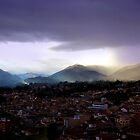 The Lovely Cajas At Dusk II - Cuenca Ecuador by Al Bourassa