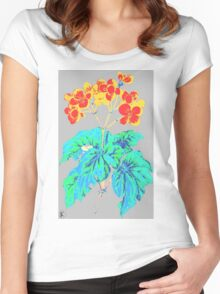 Colorful Begonia Women's Fitted Scoop T-Shirt