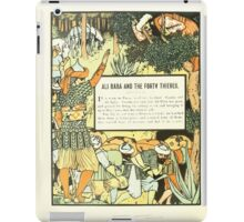 The Forty Thieves by Walter Crane 1898 6 - Ali Baba and the Forty Thieves iPad Case/Skin