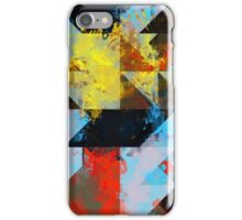 Grungy Colors iPhone Case/Skin