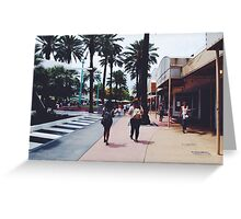 Lincoln Road Travels Greeting Card