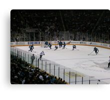 Ice Hockey Canvas Print