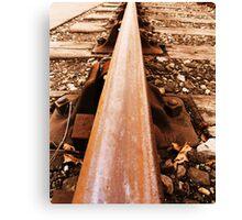 Rail Canvas Print