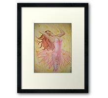 morning dance Framed Print