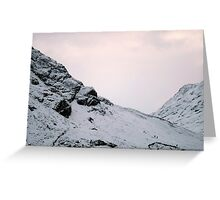 3 climbers ANOCH eAG rIDGE Greeting Card