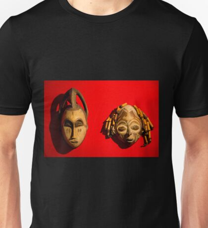 Traditional African Masks Unisex T-Shirt
