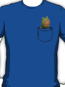 Get Out Frog Pocket T-Shirt