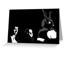 Donnie, Gretchen, Frank Greeting Card