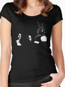 Donnie, Gretchen, Frank Women's Fitted Scoop T-Shirt