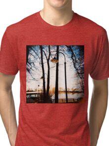 by the sea Tri-blend T-Shirt