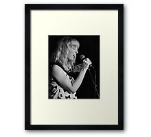 Putting the soul in to the music Framed Print