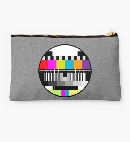 Television Color Test Studio Pouch