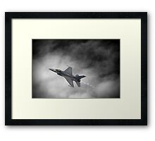 From Out Of The Storm.... Framed Print