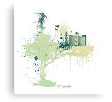 ECO-Psychle Canvas Print