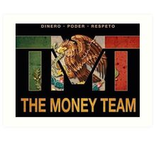 TMT | The Money Team | Floyd Mayweather  Art Print