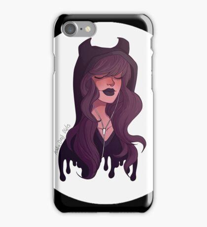 Hoodie Girl iPhone Case/Skin