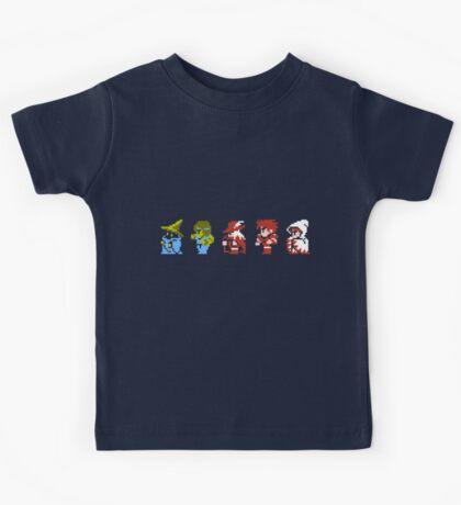 Final Fantasy - Team up Kids Tee