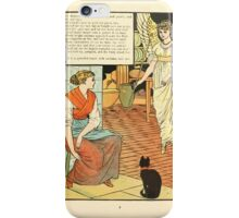 Cinderella Picture Book containing Cinderella, Puss in Boots, and Valentine and Orson Illustrated by Walter Crane 1911 11 - The Godmother iPhone Case/Skin