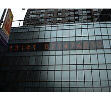Debt Clock Photographic Print