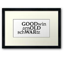 Good Old War Framed Print