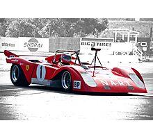 1971 Ferrari 312 P Sparling II Photographic Print