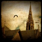 church steeples by gothicolors