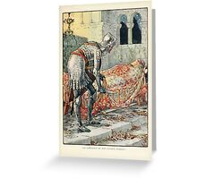 King Arthur's Knights - The Tale Retold for Boys and Girls by Sir Thomas Malory, Illustrated by Walter Crane 91 - Sir Lancelot in the Chapel Perilous Greeting Card