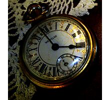 Delicacy of Time Photographic Print