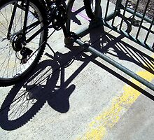 Bike Parking by Tracy Engle