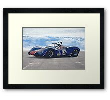 1966 Elva MK8 SR I Framed Print
