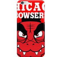 chicago bowser iPhone Case/Skin