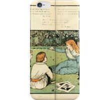The Buckle My Shoe Picture Book by Walter Crane 1910 68 - Who Taught My Infant Lips to Pray iPhone Case/Skin