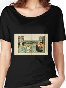 The Buckle My Shoe Picture Book by Walter Crane 1910 68 - Who Taught My Infant Lips to Pray Women's Relaxed Fit T-Shirt