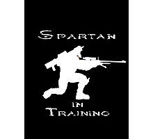 Spartan In Training Photographic Print