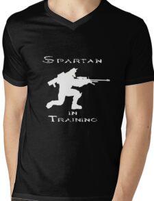 Spartan In Training Mens V-Neck T-Shirt
